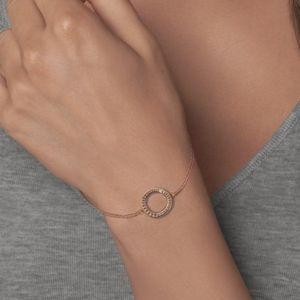 ADORE Organic Circle Bracelet.Brand New.Rose Gold